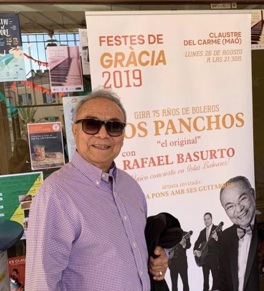 Rafael Basurto Mao, Baleares 26 de agosto de 2019