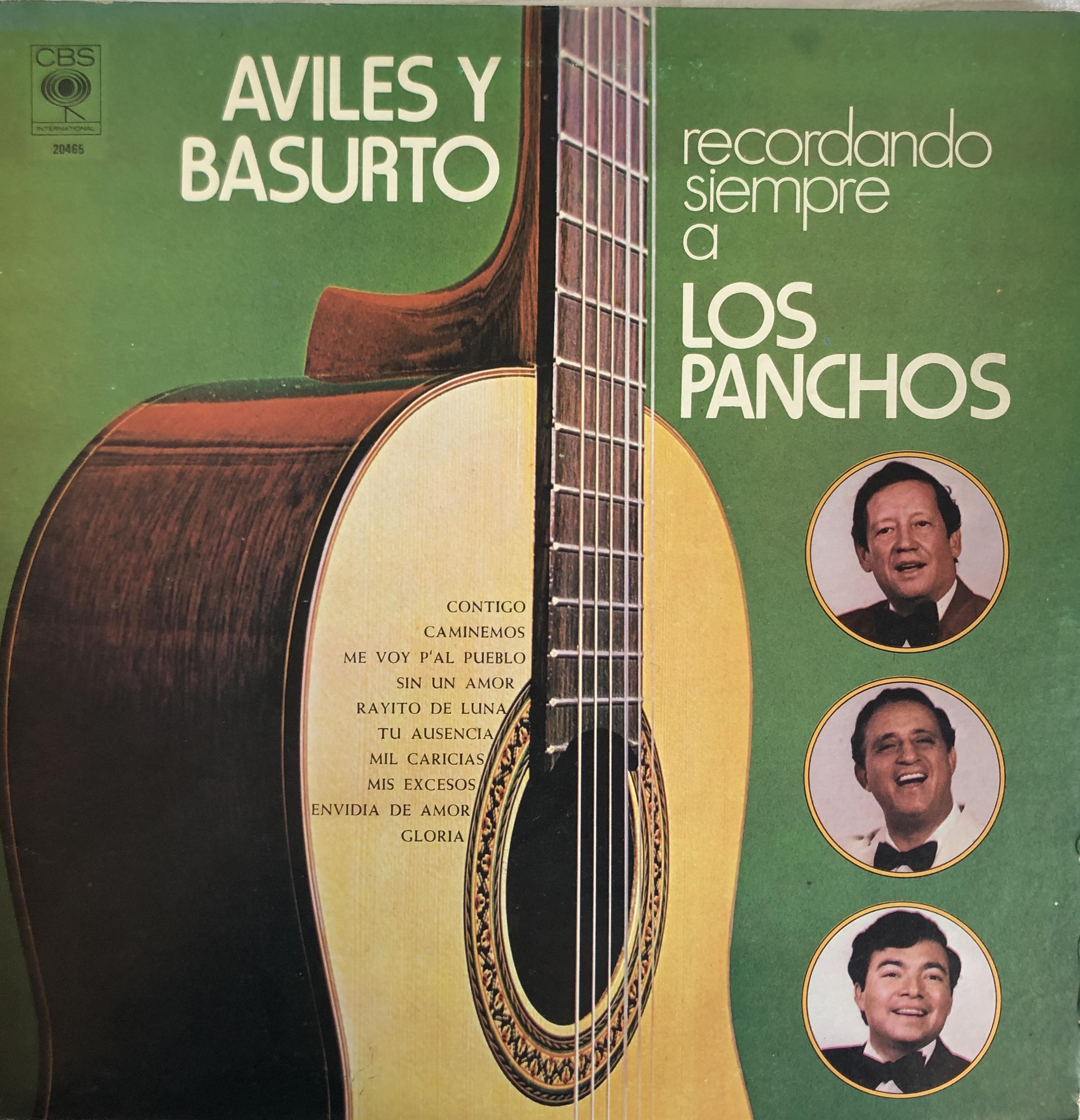 Disco del Trio Los Panchos